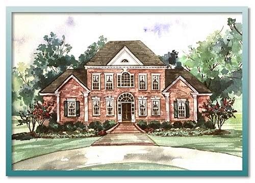 Colonial House Plans For Authentic Historical Rustic Design