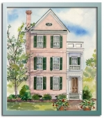 Authentic historical designs llc for Charleston style house plans