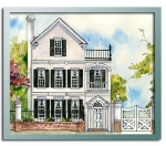 Authentic historical designs llc for Charleston side house plans